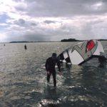 Kitesurfing ved Svelmø