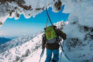 Billedet er taget i forbindelse med et af mine freeride/skitouring-eventyrer i Wagrain