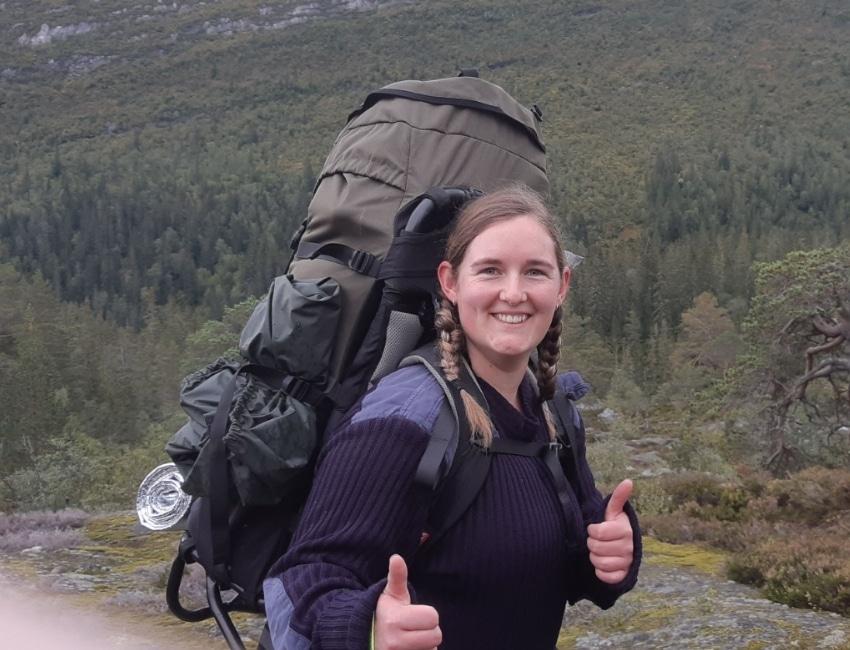 På vandretur med Elisabeth Bossen