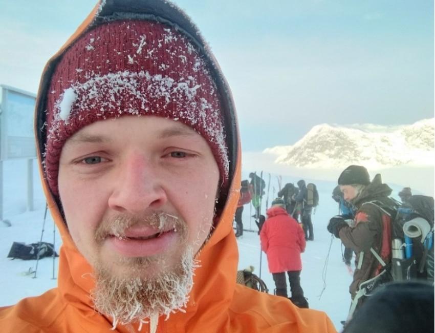 På skitouring med Mads Cieslak