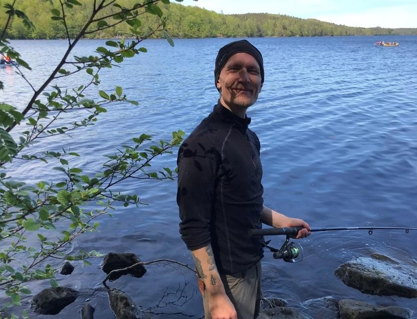 Lystfiskeri med Mads Lundborg