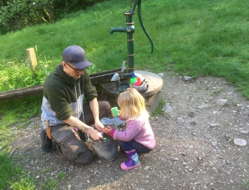Mads Lundborg og hans datter