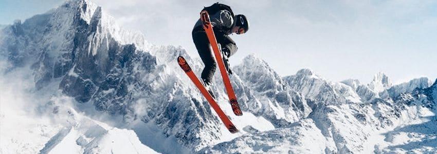 Twintip ski i park