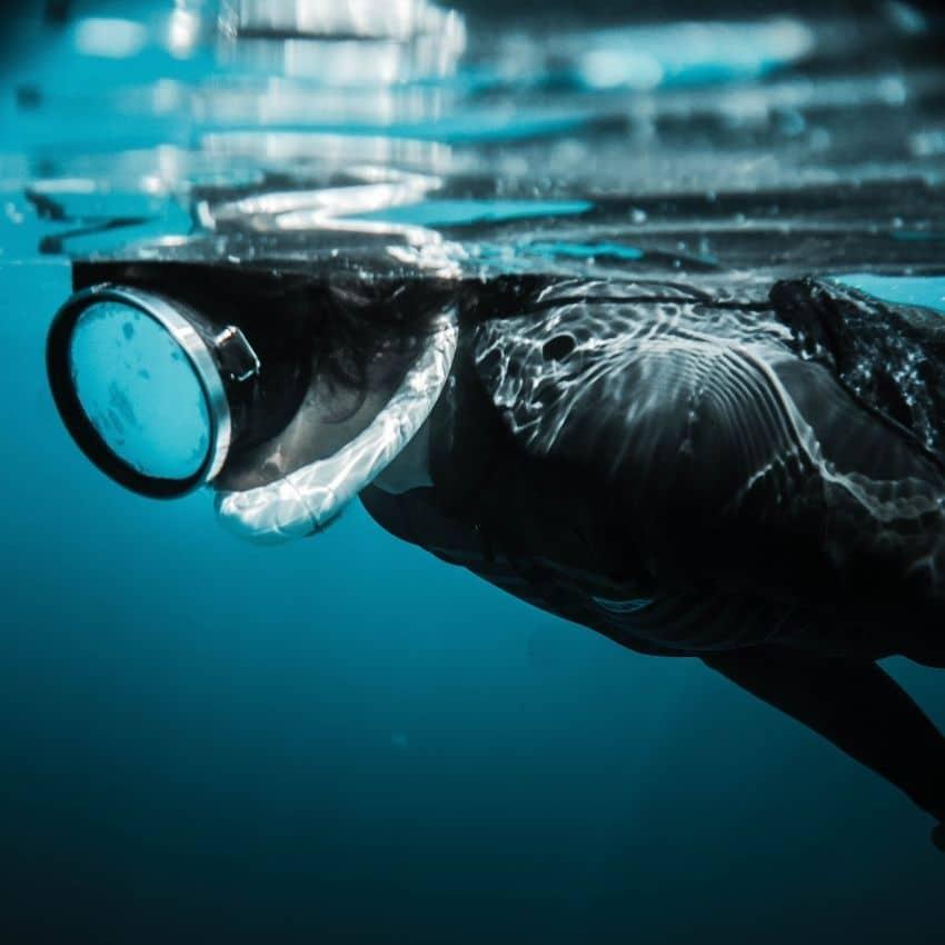Våddragt til dykning